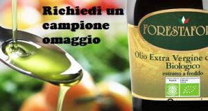 campione omaggio olio extravergine di oliva Forestaforte