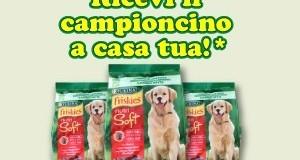 campioni omaggio cibo per cani Friskies