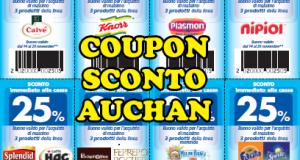 20 coupon Auchan da stampare