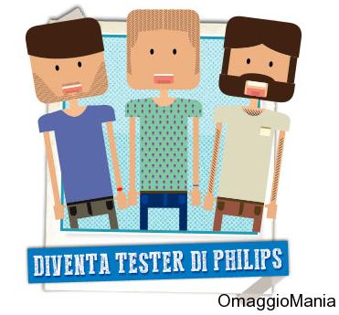 diventa tester di Philips e prova un rasoio elettrico