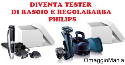 diventa tester di rasoio e regolabarba Philips