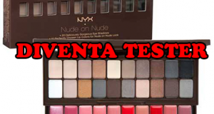 diventa tester palette Nude on Nude NYX