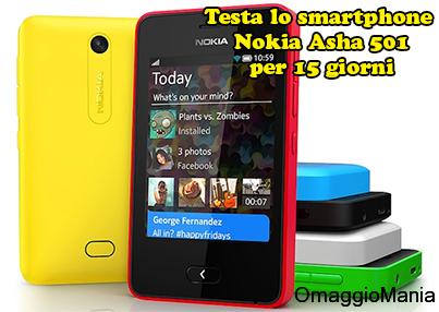 diventa tester smartphone Nokia Asha 501