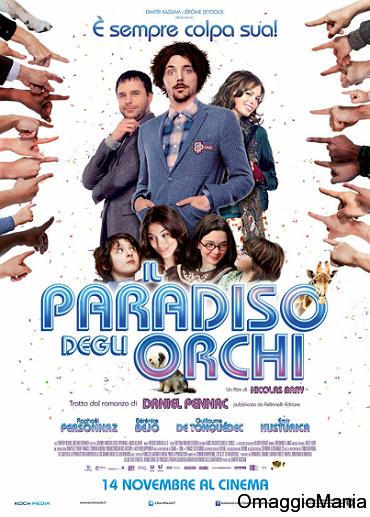 biglietti cinema omaggio Il Paradiso degli Orchi