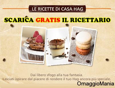 ricettario omaggio Caffè Hag