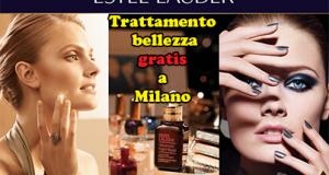 trattamento bellezza gratis da Estée Lauder a Milano