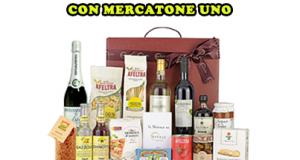 vinci cesto di prodotti Eataly con Mercatone Uno