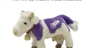 vinci il peluche della mucca Milka