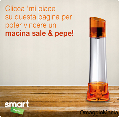 vinci macina sale e pepe con Smart Shoppers Italia