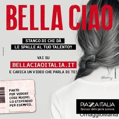 vinci un lavoro con Piazza Italia