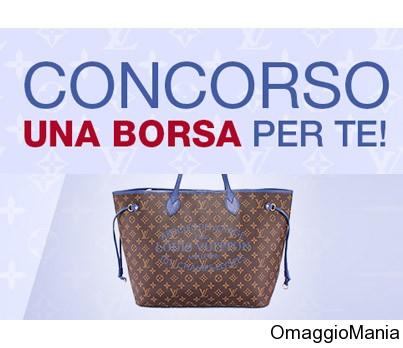vinci una borsa Louis Vuitton con PrezzoFelice