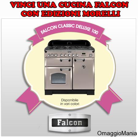 vinci una cucina Falcon con Edizioni Morelli