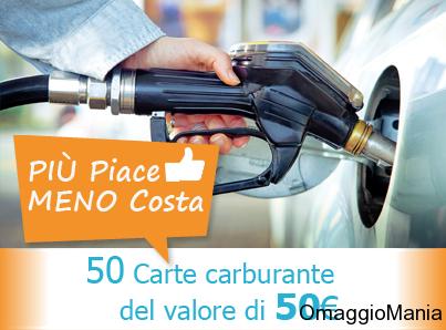 buoni carburante più piace meno costa