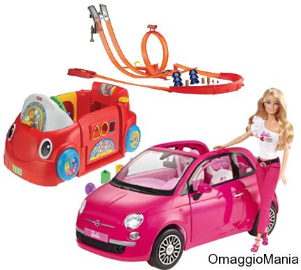 buoni sconto giocattoli Mattel