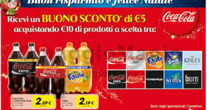 buono sconto Coca Cola 5 euro