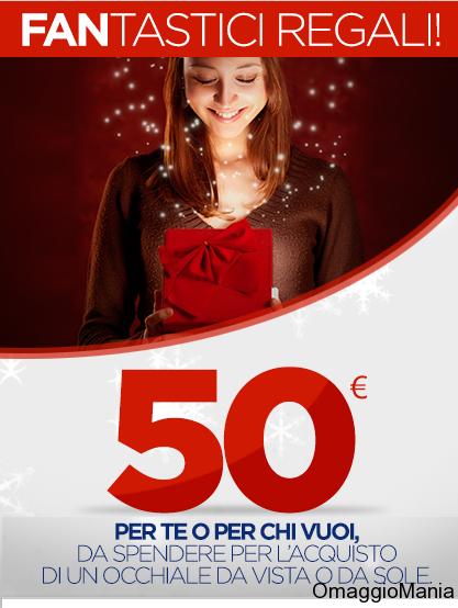 buono sconto Optissimo da 50 euro