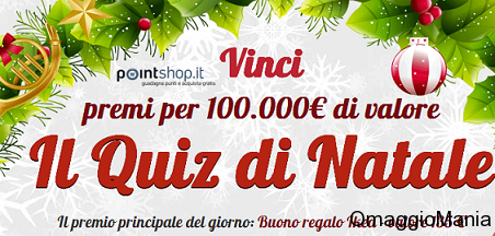 calendario dell'avvento pointshop