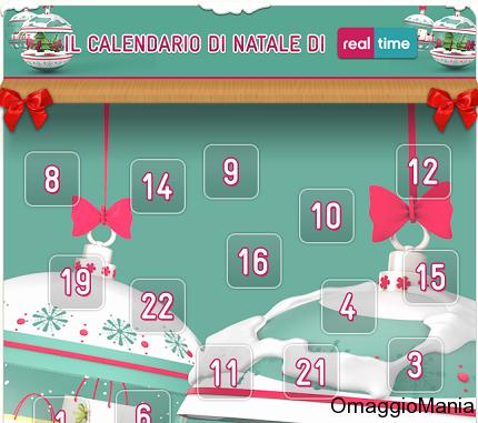 calendario di Natale Real Time