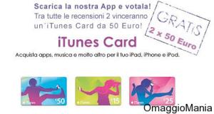 concorso Leggere a Colori iTunes Card