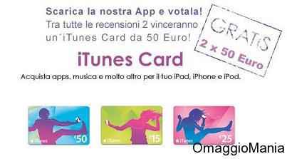 Vinci Itunes Card Da 50 Euro Omaggiomania