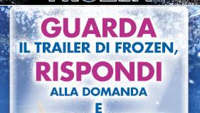 concorso disney frozen