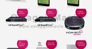testare prodotti LG gratis
