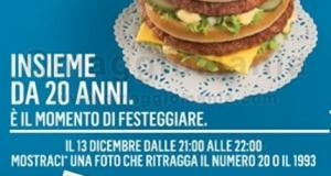 hamburger gratis da McDonald's Milano