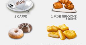 omaggio sicuro a scelta da McDonald's