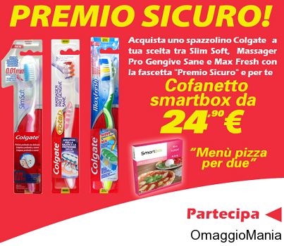 pizza gratis con Colgate