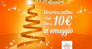 ricarica omaggio Wind dicembre