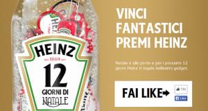 vinci ogni giorno un premio con Heinz