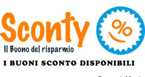 buoni sconto disponibili e stampabili su Sconty.it (gennaio 2014)
