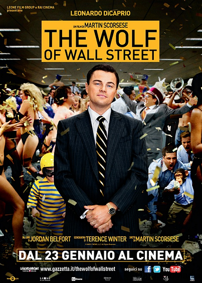 biglietti cinema gratis The Wolf of Wall Street AlFemminile