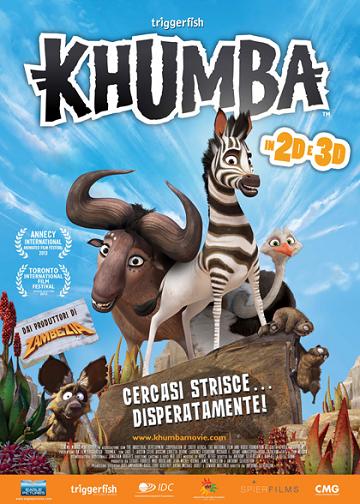 biglietti cinema gratis film Khumba