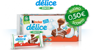 buono sconto Kinder Delice cocco