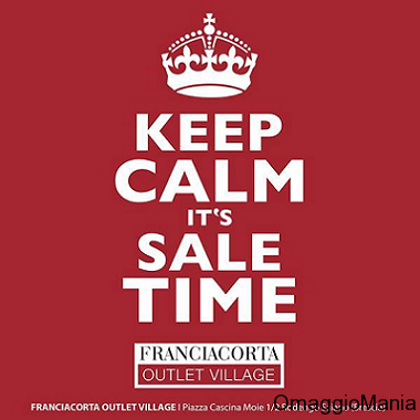 concorso My Fashion Sale Franciacorta Outlet Village