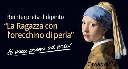 concorso Segafredo Zanetti - la ragazza con l'orecchino di perla