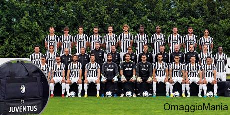 concorso a premi Juventus e Goodyear per vincere calendario Juventus 2014