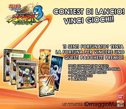 contest Naruto Shippuden Ultimate Ninja Storm 3 Full Burst