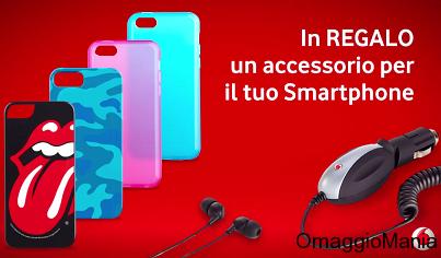 cover o accessori smartphone in regalo con Vodafone You