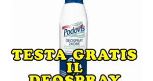diventa tester deospray 24 ore Podovis
