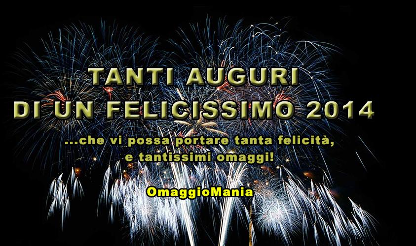tanti auguri di un felicissimo 2014 da OmaggioMania