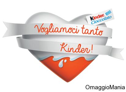 gadget Kinder gratis con Vogliamoci tanto Kinder