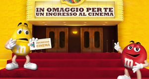 cinema gratis con M&M's e Twix