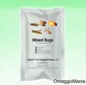 insetti omaggio da InsettiCommestibili.it