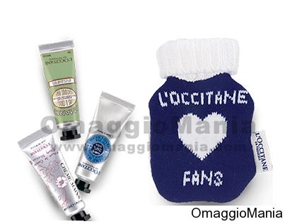kit creme omaggio L'Occitane