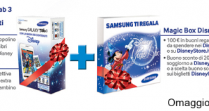 omaggio Disney acquistando Samsung