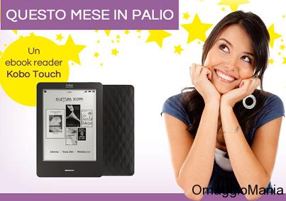 vinci Kobo Touch con Il Cassetto dei Desideri