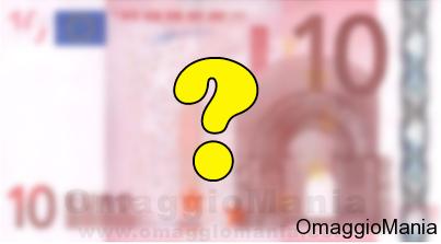 vinci banconote Euro del valore di 5 o 10 euro