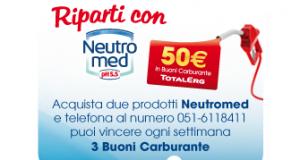 vinci buoni carburante con Neutromed